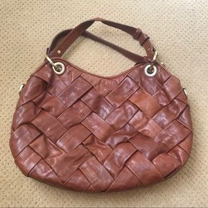Cole Haan Leather Woven Handbag 👜